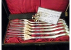 Antique German Sterling Plate Forks