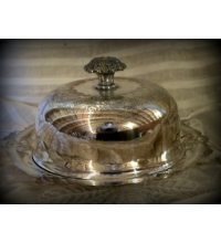 Forbes Silver Co.3 Piece Butter/Caviar Dish