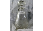 Cut Glass Cruet/Decanter & Crystal Sto..