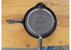 Griswold Cast Iron French Waffle Iron ..