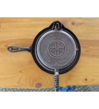 Griswold Cast Iron French Waffle Iron 1890  No.8