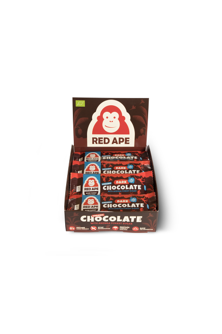 Red Ape Dark chocolate 20bar display