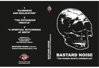 "BASTARD NOISE ""THE HUMAN WASTE CHRONICLES"" 3"" cd not cd-r limited to 250 US ONLY"