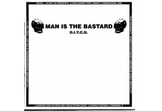 Man Is The Bastard ‎– D.I.Y.C.D.  CD
