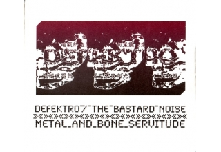 Defektro / Bastard Noise - Metal & Bone Servitude Collaboration CD