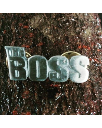 BruceBuds The Boss Pin Badge