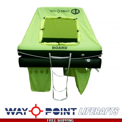4 Person Waypoint Offshore ORC Liferaft