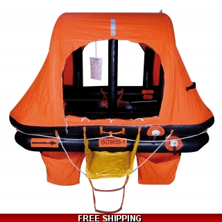 6 Person Sea-Safe KHY ISO 9650 Self Ri..