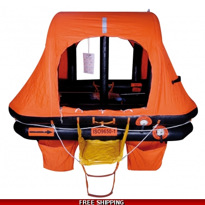 6 Person Sea-Safe KHY ISO 9650 Self Righting Liferaft 24 Hr/ SOLAS B