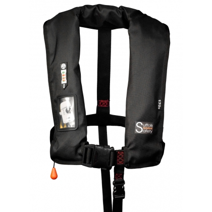Suffolk Marine Safety Lifejacket Auto Non-Harness with Light