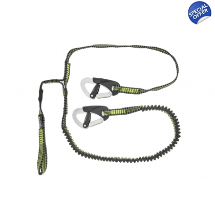 Spinlock Performance 2 Clip & 1 Link Elasticated Safety Line