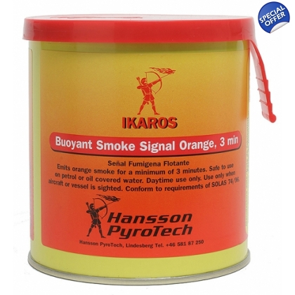 Ikaros Buoyant Orange Smoke 12/21 Expiry