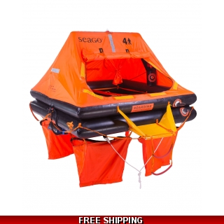 6 Person Seago Sea Master ISO 9650-1 L..