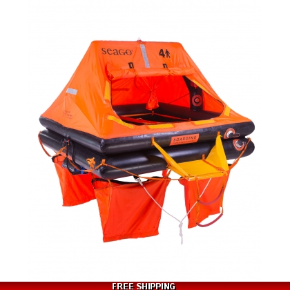 6 Person Seago Sea Master ISO 9650-1 Liferaft