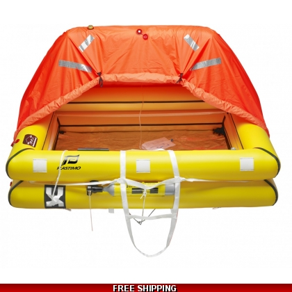 8 Person Plastimo Transocean ISO Less Than 24hr Liferaft