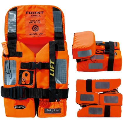 Baltic M.E.D. SOLAS 2010 Foam Child Lifejacket