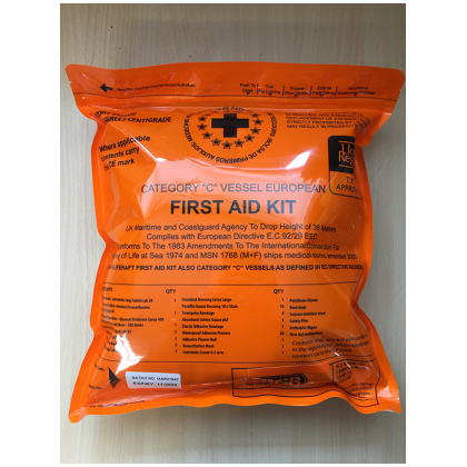 Category C First Aid Kit soft pack - 2 year 6 months life