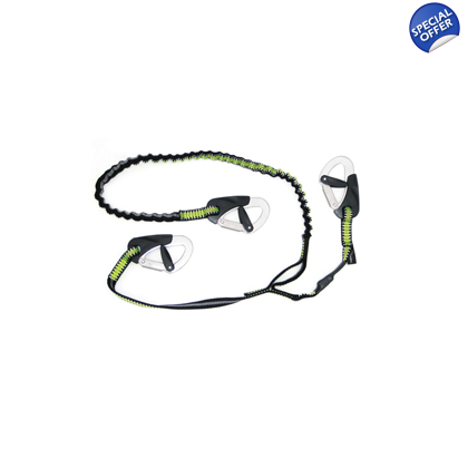 Spinlock Performance 3 Clip Elasticated Safety Line