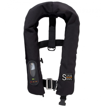 SMS Argus PRO ISO Lifejacket Auto Harness, Light/ No Light