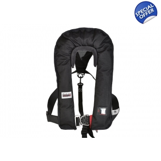 Marinepool ISO 180-185N Lifejacket Black