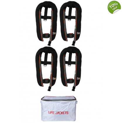 4 x SMS Winner 165 Lifejacket Auto Non-Harness Offer
