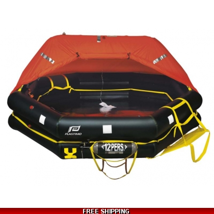 12 Person Plastimo Transocean ISO More Than 24 Hr Liferaft Container