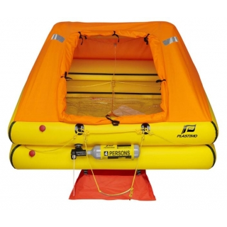 4 Person Plastimo Cruiser ORC Liferaft
