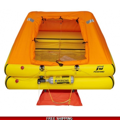 4 Person Plastimo Cruiser ORC + Liferaft