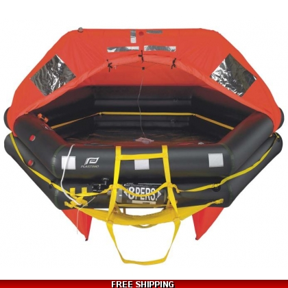 8 Person Plastimo Transocean ISAF Canister Liferaft