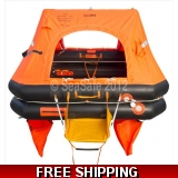 6 Person Sea-Safe ISO 9650 KHY Liferaf..