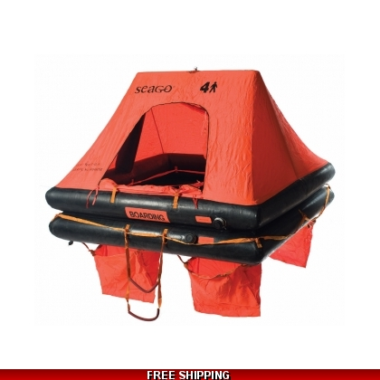 6 Person Seago GX-Offshore Liferaft