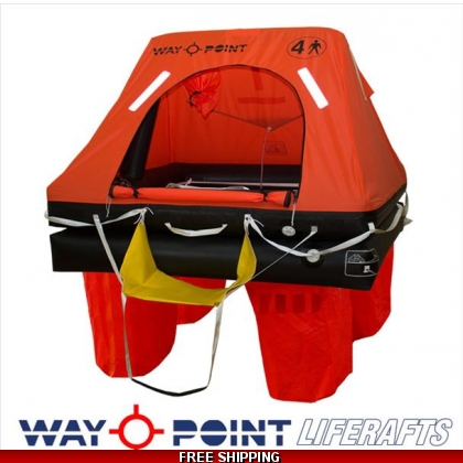 12 Person Waypoint ISO 9650-1 Commercial Liferaft