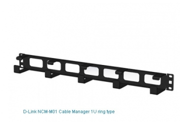 CABLE MANAGEMENT 19'' 1U METAL FACEPLATE DLINK