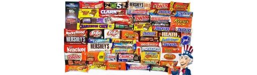 American Chocolate Bars Treats American Candy Bars