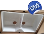 RF0800 Double bowl farmhouse sink
