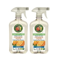 2 x Earth Friendly Orange Mate Surface Cleaner 500 ML Bottle