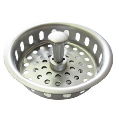 Manual basket in brushed chrome replacement