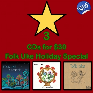3 CDs for $30