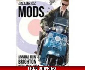 Calling All Mods Brighton 1964