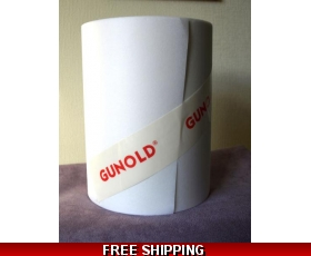 Gunold Stiffy Embroidery Stabiliser White medium-heavy weight 60g 10 metres x 21cm FREE POST