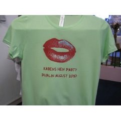 Ladies/Girls Hen Party T Shirts