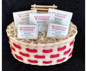 Deluxe Goat Milk Soap Gift Basket