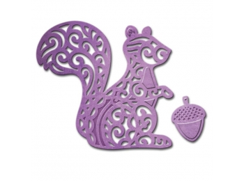 Squirrel - Spellbinders Shapeabilities Die D-Lites - S2158