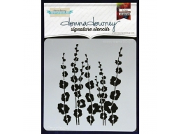 Poppy Stems - Donna Downey - Signature Stencils 8.5