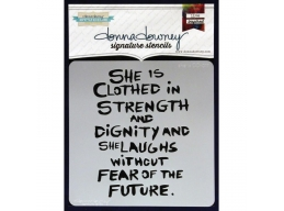 She Is - Donna Downey - Signature Stencils 8.5