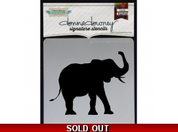 Good Luck Elephant - Donna Downey - Signature Stencils 8.5