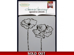 Anemone Duo - Donna Downey - Signature Stencils 8.5