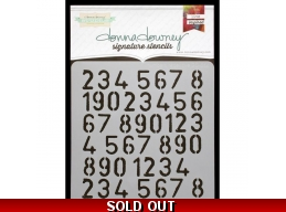 Numbers Repeat - Donna Downey - Signature Stencils 8.5