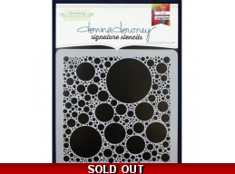 Bubbles - Donna Downey - Signature Stencils 8.5