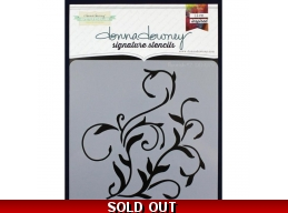 Flourish 2 - Donna Downey - Signature Stencils 8.5